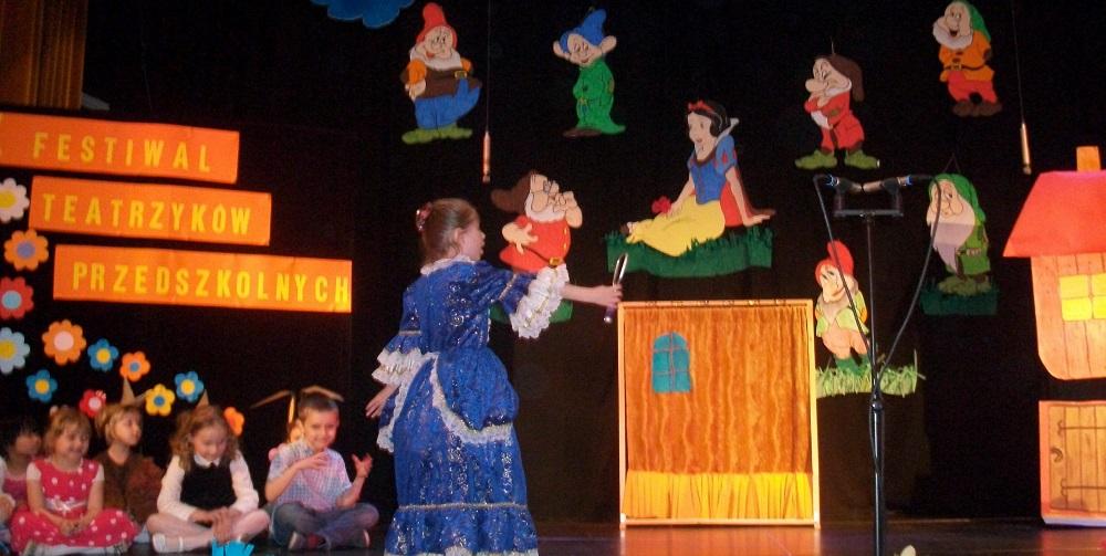 X Festiwal Teatrzyków Przedszkolnych