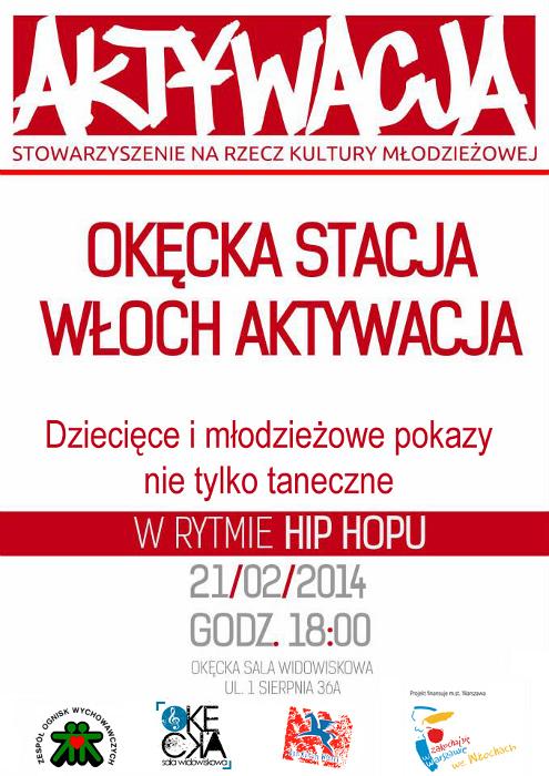 Okęcka Sala Widowiskowa: Aktywacja