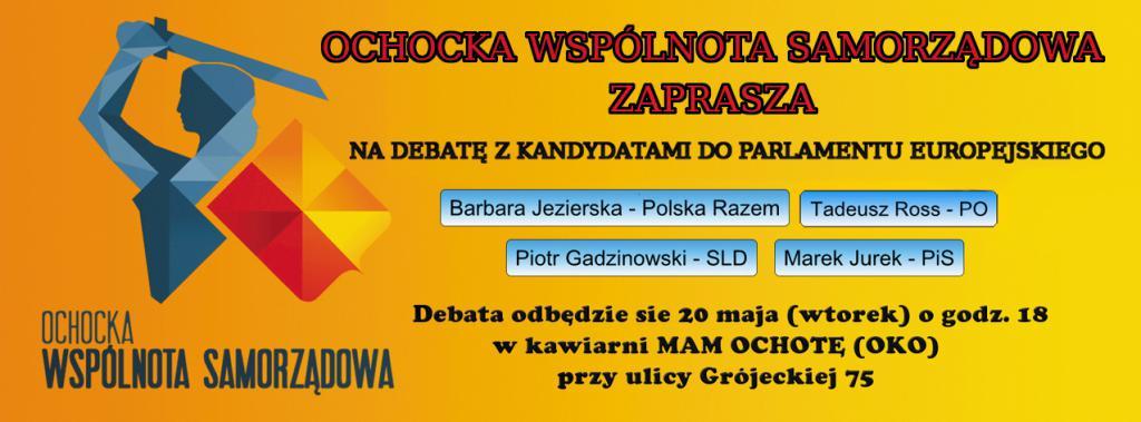 8. Debata Europejska - Ochota