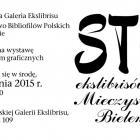 Ekslibrisy dla Mieczysława Bielenia na Ochocie