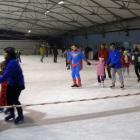 Otwarcie lodowiska na Rokosowskiej