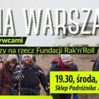 Sklep Podróżnika: spotkanie ze zdobywcami Korony Warszawy